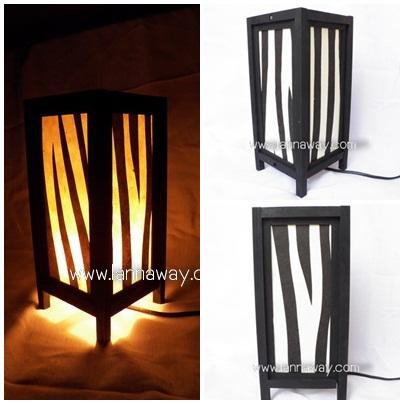 โคมไฟตั้งโต๊ะ โคมไฟกระดาษสาพับได้ TLM011